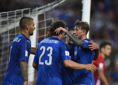 Gabbiadini on target in Italy success