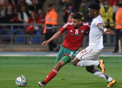 Boufal in Morocco squad