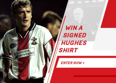 Win a retro Southampton shirt signed by Mark Hughes