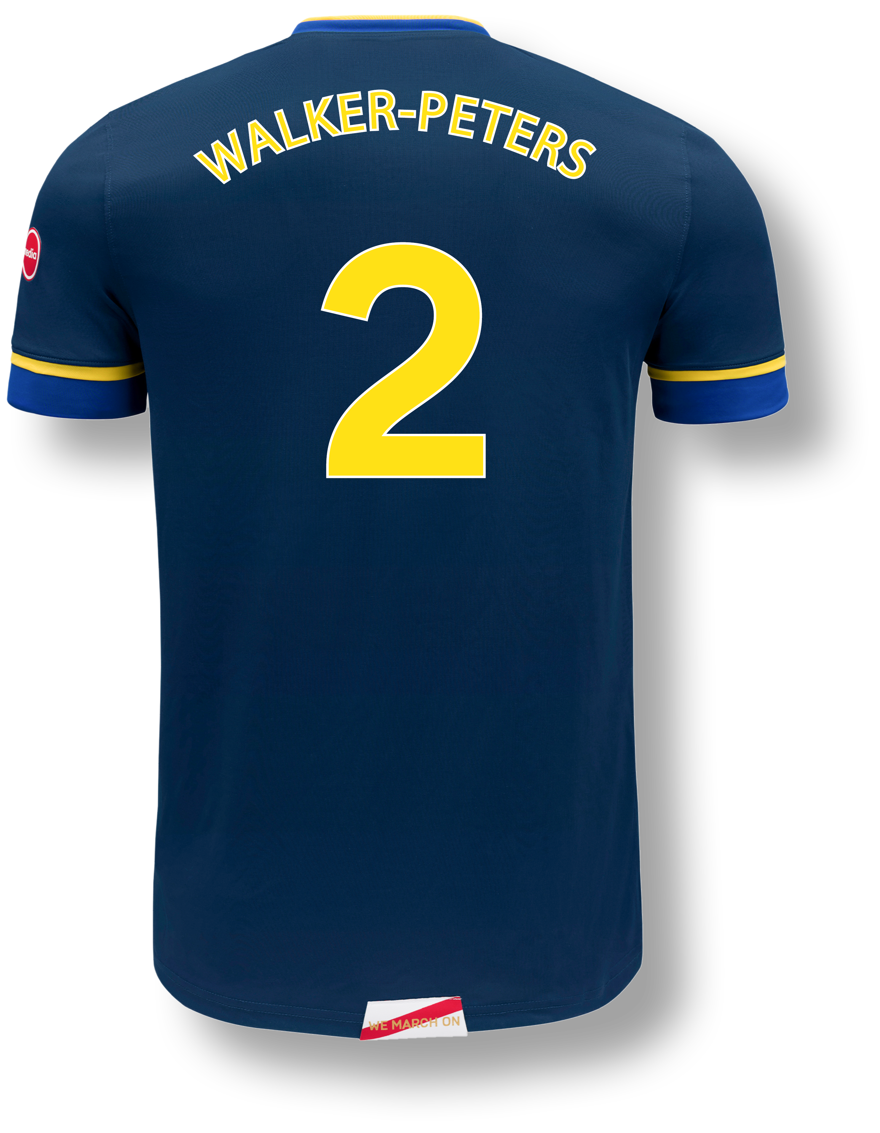 Back of Shirt Graphic - Away - Walker-Peters