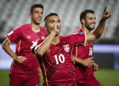 In Numbers: Tadić shines for Serbia