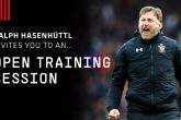 Fans invited to Open Training Session