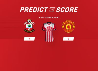 Predict The Score: Saints vs Manchester United