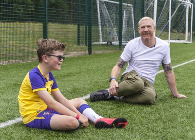 Saints Foundation: When Iwan met Ben