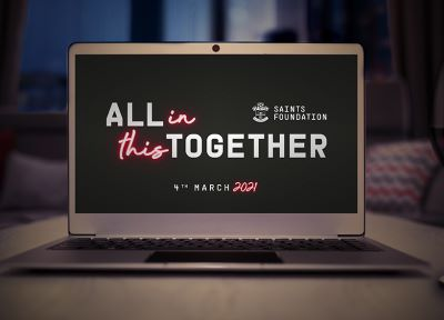 All In This Together: Saints Foundation raises £25,000