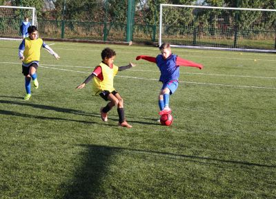 Half-term Soccer School places available
