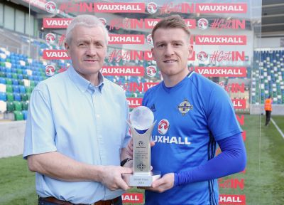 Davis named Northern Ireland Player of the Year